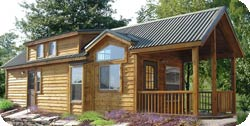 Cabins for sale!