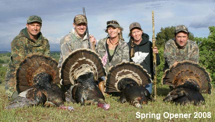 Guided Wild Turkey Hunting